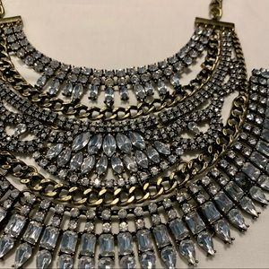 BAUBLEBAR Crystal Cleopatra Bib Necklace